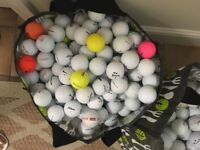 Used golf balls great condition cleaned various brands
