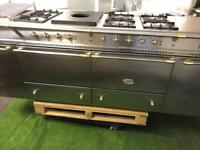 Stunning Lacanche vezelay range cooker double oven stainless steel