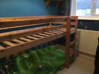 Childrens midi bed ,good condition