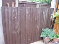 garden fence panel s two