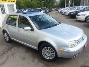 2007 Volkswagen City Golf 2.0/ AUTOAIR/PWR ROOF/ALLOYS