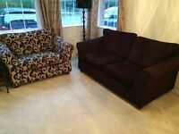 M&S Abbey Medium Sofa and Loveseat