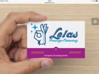 Lola's prestige cleaning /ironing service