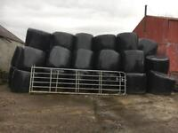 140 bales silage