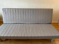Ikea Beddinge Double sofa bed – Grey blue