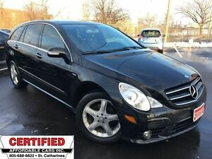 2010 Mercedes-Benz R-Class R350 BlueTEC ** AWD, HTD LEATH, NAV *