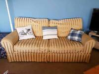 Laura Ashley pair of sofas, Bargain, must go! 3 seater and a 2 seater