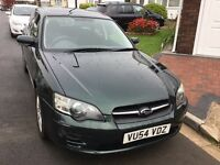Subaru Legacy 2.0 automatic estate 2005 facelift model 5 door four wheel drive mot March history