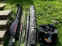 Coarse fishing set up swap carp set up