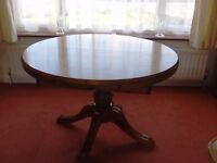 Ducal Victoria Pine extending Table