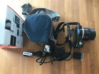Sony a5000 20.1 MP Digital Camera ILCE 5000L with case and new spare battery