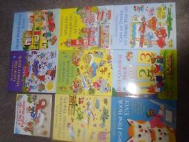 RICHARD SCARRY CHILDRENS BOOKS AGE 0-5 BUNDLE OF 9 BOOKS - COLLECT NEAR COWBRIDGE