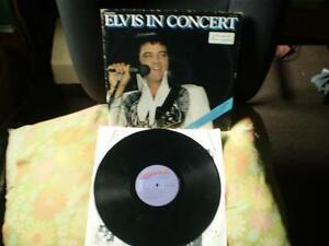vinyl elvis (in concert) double & elvis collection/jaune/33 tour
