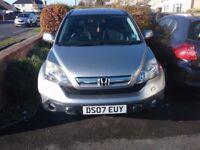 Honda crv 2007 with full history and new MOT £3550