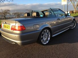 3 SERIES BMW 320 ci SPORT CONVERTIBLE FACE LIFT MODEL 2004-REG MUST SEE
