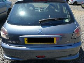 Peugeot 206 Sport 2006 Grey - For parts only!