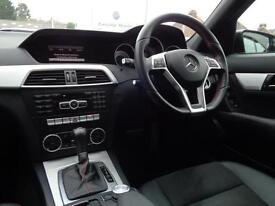 Mercedes-Benz C Class C220 CDI BLUEEFFICIENCY AMG SPORT PLUS (black) 2013-11-29