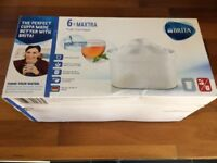 6 PACKS - BRITA Maxtra Universal Water Filter Cartridges (UK version) - RRP £30