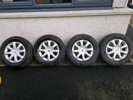 Peugeot alloy wheels