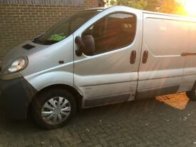 Vauxhall Vivaro van from 2006 for sale! NEW PARTS | Ready for work straight away!