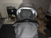 Bebecar Ip-OP Evolution 3 in 1 Travel System (Pram)