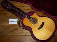 Taylor 914 C electro acoustic 1996 with Fishman Prefix Premium Blend pickup system