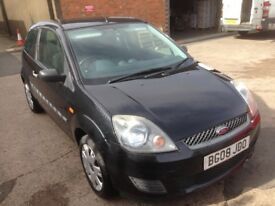 Only £30 tax and low mileage 2008 Ford Fiesta Diesel runs and drives like new long mot June