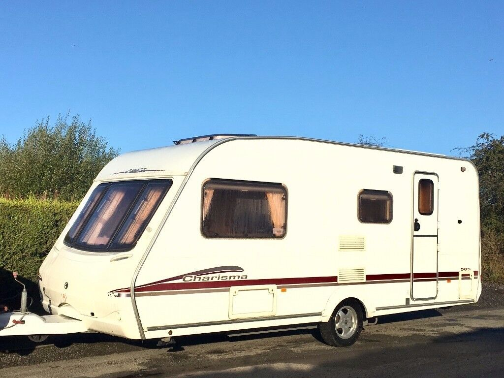 Swift Charisma 4 Berth Caravan With Awning & Accessories ...