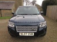 Land Rover Freelander 2, 2.2 TD4 XS. 1 owner. 12 months MOT. FSH. 2007. Navy blue.