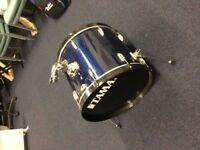 Tama Swingstar Bass Drum (With new skin/dampened)