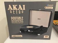 Akai Portable Record Player