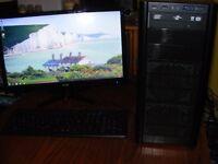 gaming pc i5 2.8 cpu 6gb memory 2tb harddrive ati radeon 5830