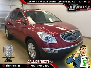 Used 2012 Buick Enclave AWD CXL2-Heated/Cooled seats,Skyscape Su