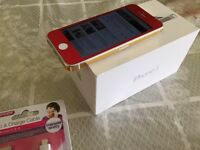 I phone 5 5s red button fitted unlocked