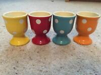 Set of 4 egg cups £1