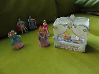 ELC fairy palace figures and bed