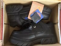 BNIB Pier39 School shoes with tags. Size 4. Real quality leather upper material.