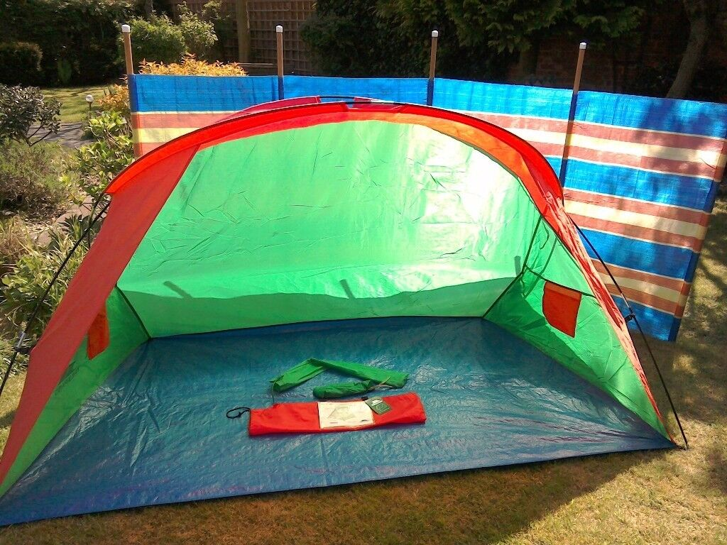 Lunan Tresp Beach Tent 5 Pole Windbreak