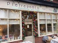 Part-time cook with an interest in healthy / raw food - Pierreponts cafe, Goring on Thames