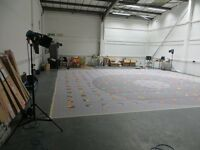 HUGE Warehouse Location Film & Photography Studio, Music Video Shoots,Fashion, Dance Rehearsal, Art