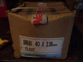 25KG 40X2.36 CLOUTS GALVINISED