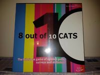 "Brand New ""8 out of 10 Cats'"" Board Game RRP 19.99"