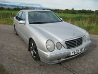 Mercedes E 320 CDi Avantgarde only 70K FSH Be quick £2450