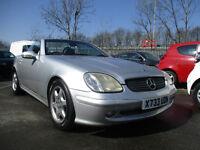 2000 Mercedes-Benz SLK 2.3 SLK230 Kompressor 2dr 12 months mot looks and drives excellent nice car