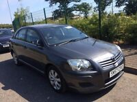 TOYOTA AVENSIS DIESEL; 2007 (57) FULL COMPREHENSIVE HISTORY 9 STAMPS RECENT MAJOR SERVICE FOR £780