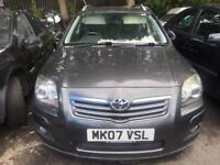 TOYOTA AVENSIS 2.2 D4D T180 SPARES OR REPAIRS DPF ISSUE 2007