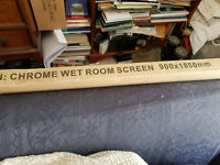 Wet Room Screen 900x1850mm - new in unopened box £150 collection only