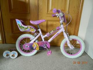 "DISNEY PRINCESS GIRLS BIKE -14"" for Sale"