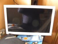 Sony Bravia White Slim Digital Colour 26 Ins TV.No Stand.