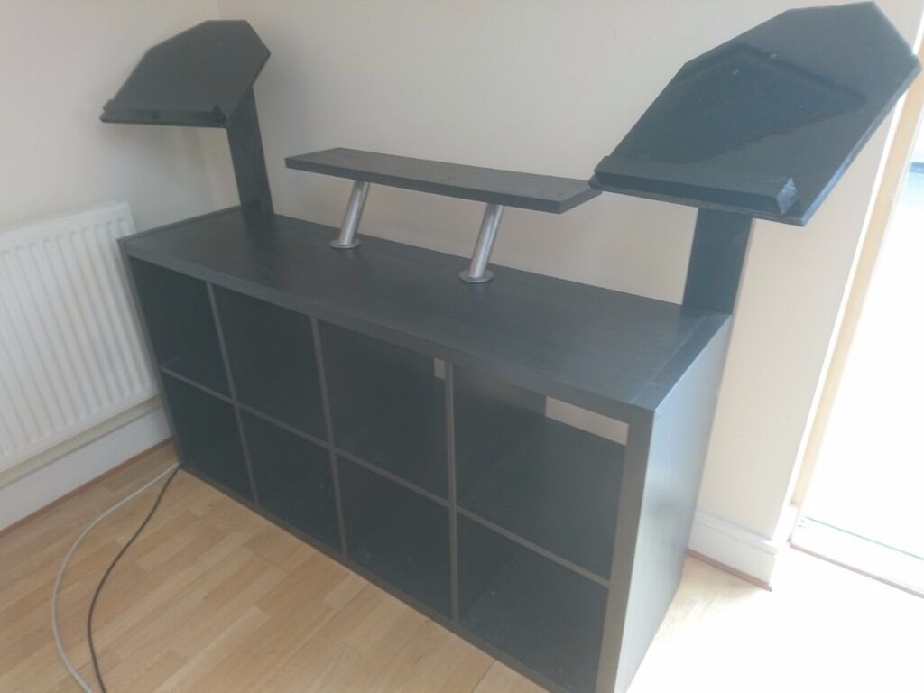 Custom Made Dj Booth Desk For Turntables And Cdjs